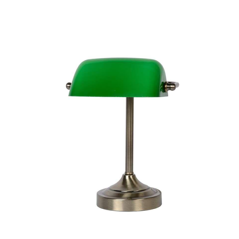 Lucide bureaulamp Banker brons Leen Bakker