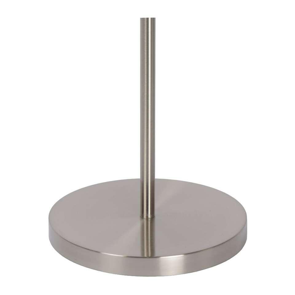 lucide vloerlamp zenith led mat chroom 24