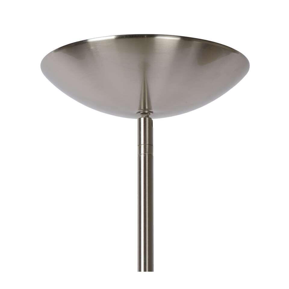 Lucide vloerlamp Zenith LED - mat chroom - Ø24 - Leen Bakker