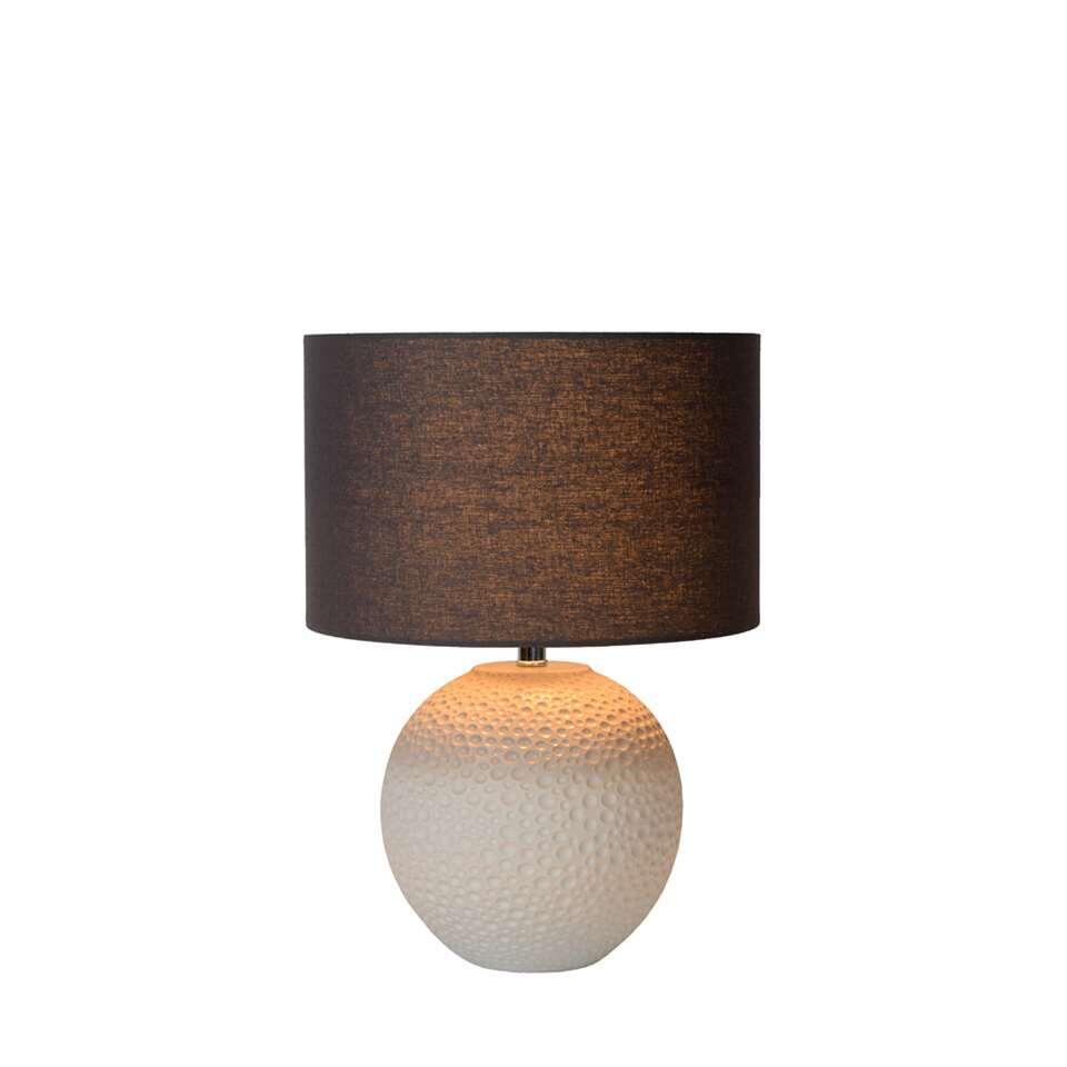 lucide tafellamp sally beige 30 cm