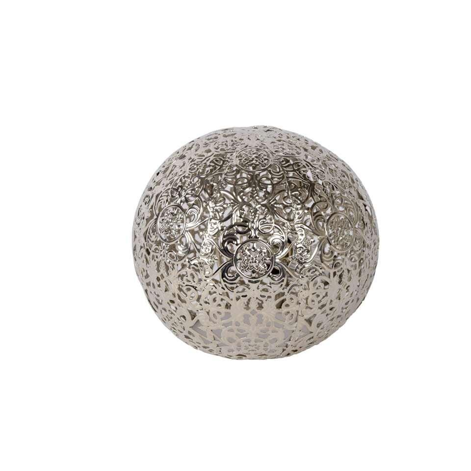 Lucide tafellamp Paolo – zilver – Leen Bakker