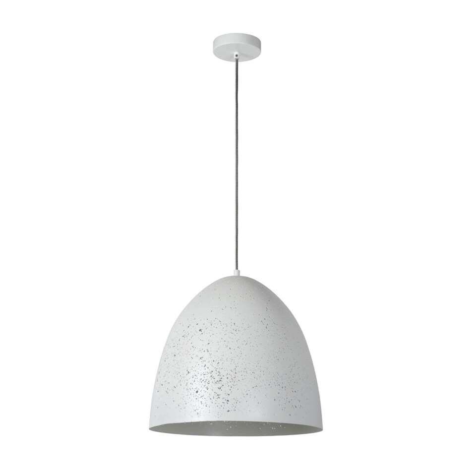 Lucide hanglamp Eternal - wit - Ø40 cm - Leen Bakker