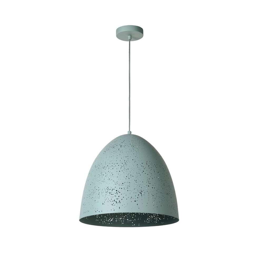 Lucide hanglamp Eternal - pastel blauw - Ø40 cm - Leen Bakker