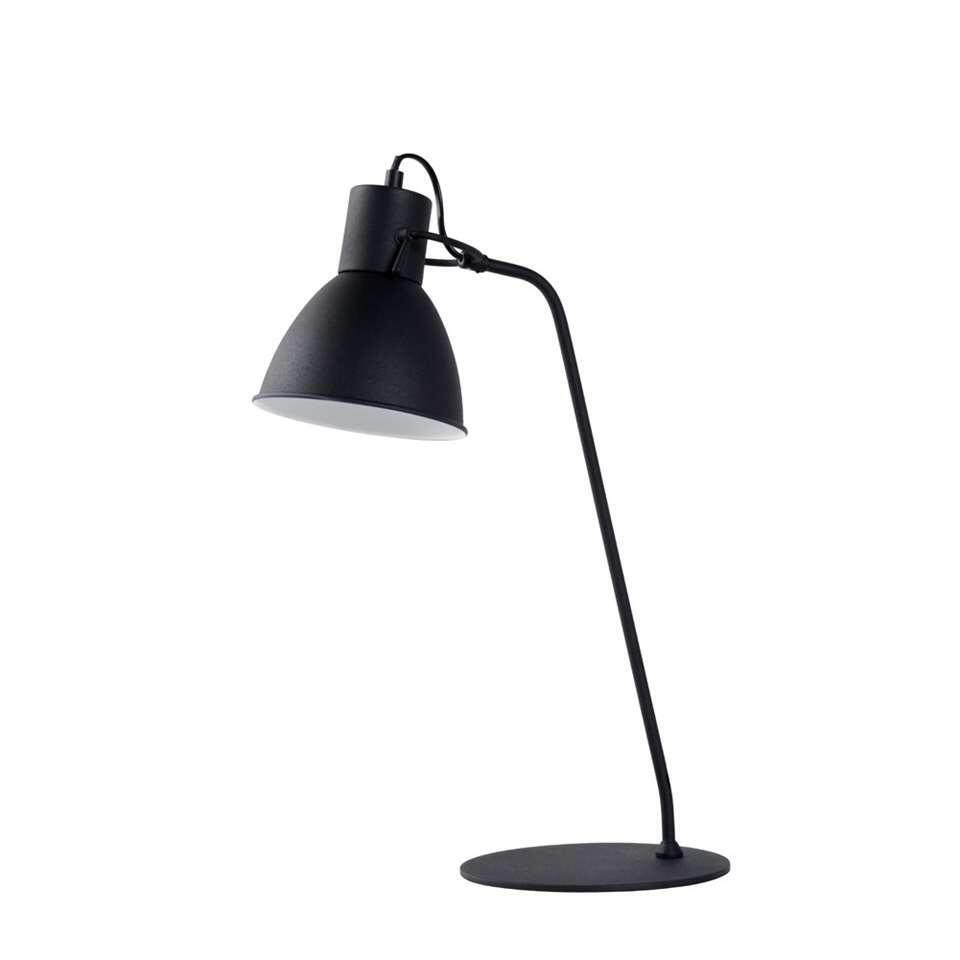 Lucide bureaulamp Shadi zwart Ø20 cm Leen Bakker