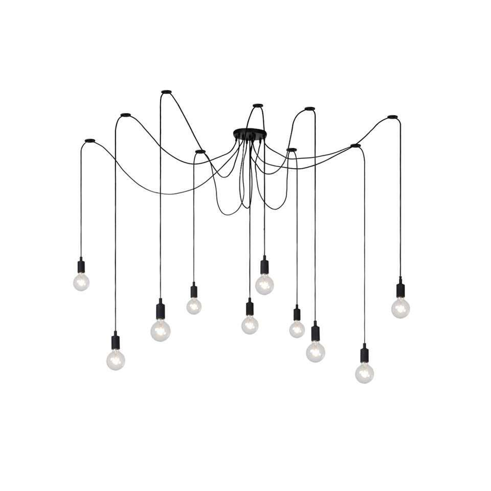 Lucide hanglamp Fix Multiple 10 - zwart