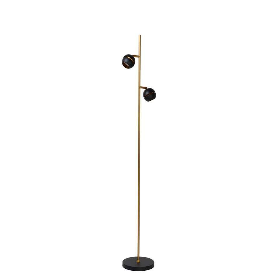 Deze vloerlamp is mooi en erg handig. De staande lamp met twee lichtpunten is een echte eyecatcher in je interieur. Deze vloerlamp voelt zich vooral goed thuis in een moderne setting.