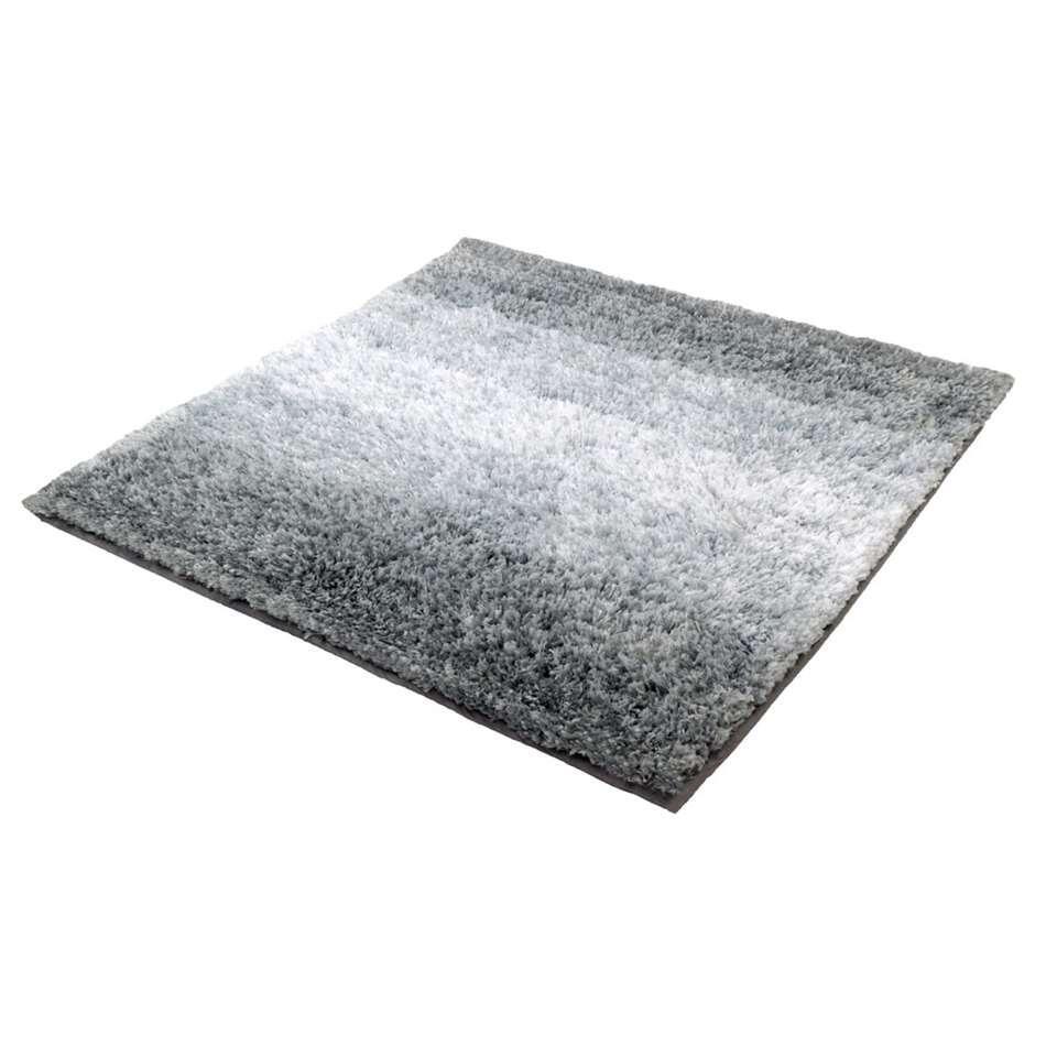 Kleine Wolke badmat Oslo – grijs – 60×60 cm – Leen Bakker