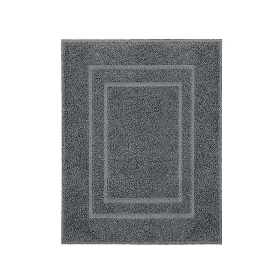 Kleine Wolke badmat Plaza - grijs - 60x80 cm - Leen Bakker