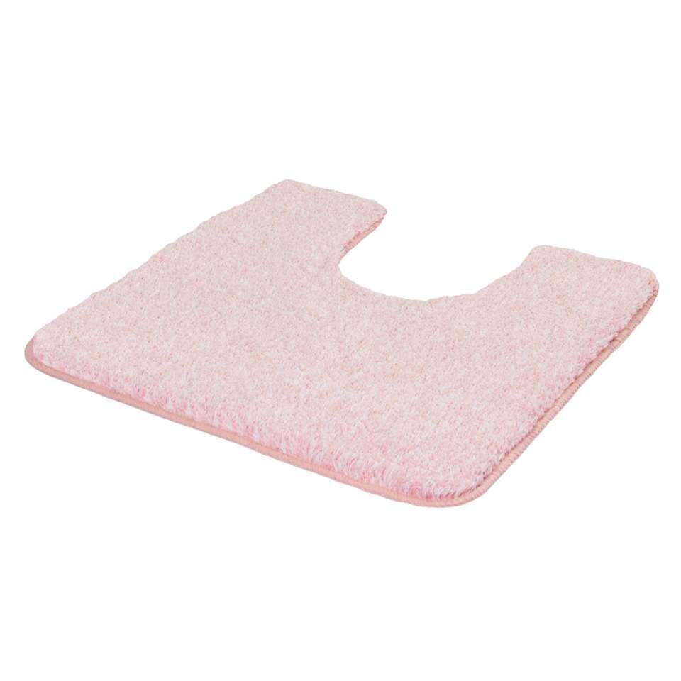Kleine Wolke toiletmat Seattle – roze – 55×50 cm – Leen Bakker