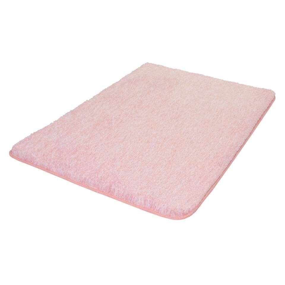 Kleine Wolke badmat Seattle - roze - 55x65 cm