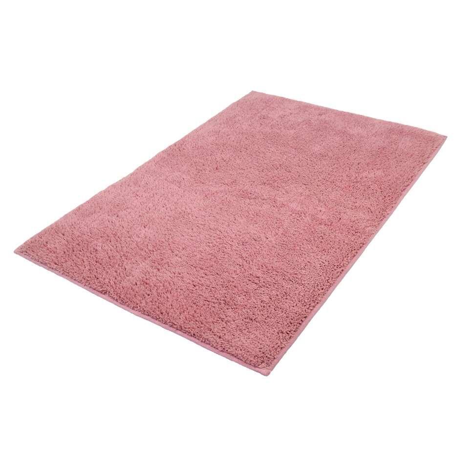 Kleine Wolke badmat Kansas - roze - 60x90 cm - Leen Bakker
