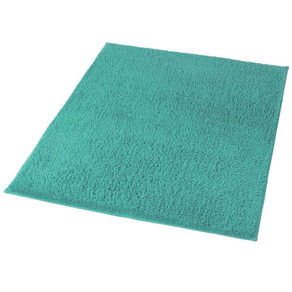 Kleine Wolke badmat Kansas - turquoise - 60x90 cm - Leen Bakker