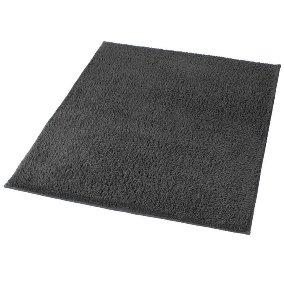 Kleine Wolke badmat Kansas - grijs - 60x90 cm - Leen Bakker