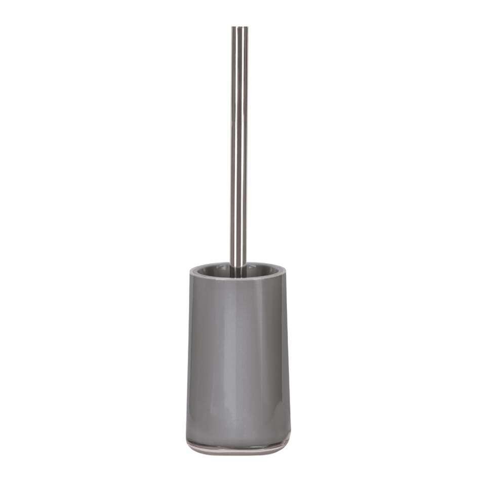 Kleine Wolke toiletborstel Mable - grijs - 39x9,6 cm - Leen Bakker