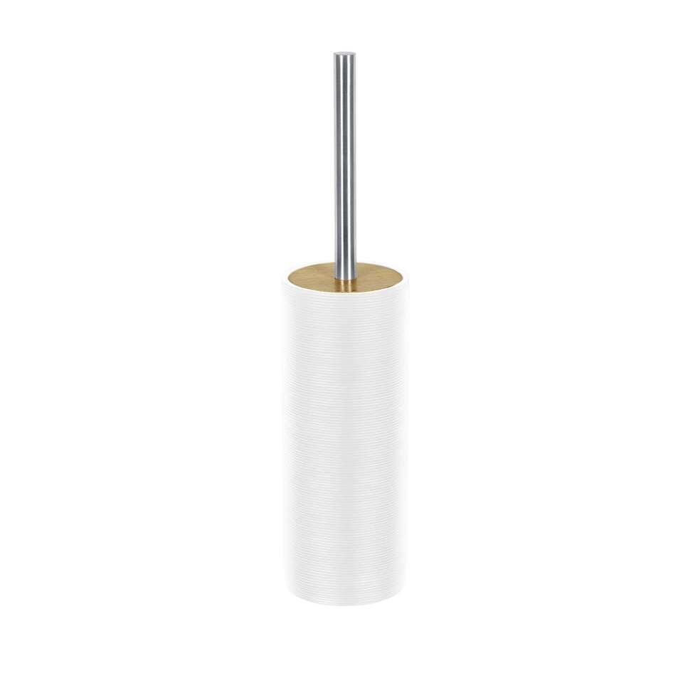 Kleine Wolke toiletborstel Kyoto - wit - 40x9 cm - Leen Bakker
