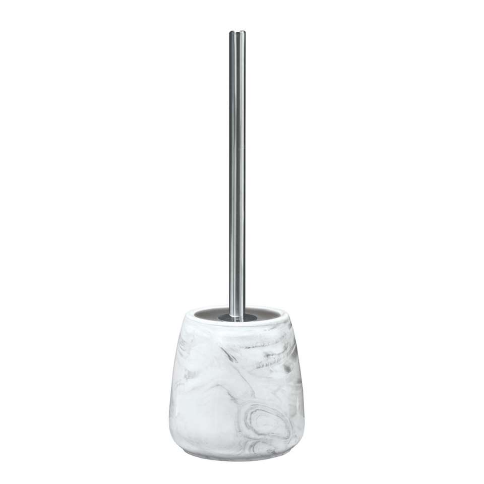 Kleine Wolke toiletborstel Marble – antraciet – 41,5×13,5 cm – Leen Bakker