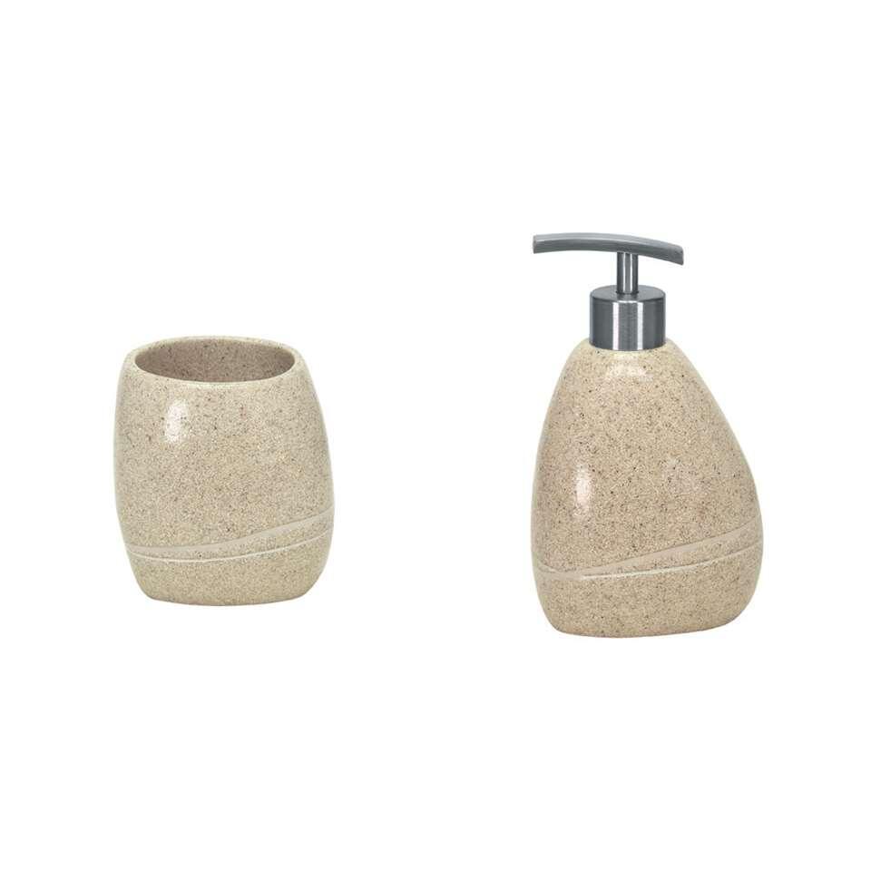 Kleine Wolke badkamerset Stones - beige