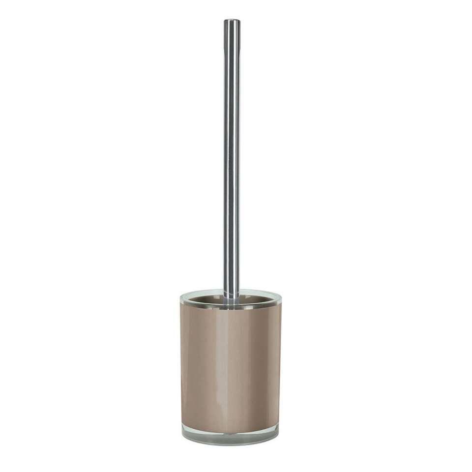 Kleine Wolke toiletborstel Polly - bruin - 37x9,8 cm - Leen Bakker