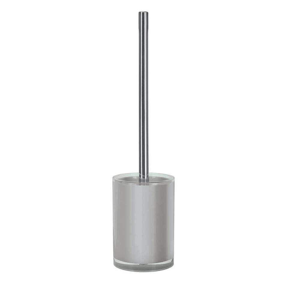Kleine Wolke toiletborstel Polly - grijs - 37x9,8 cm - Leen Bakker
