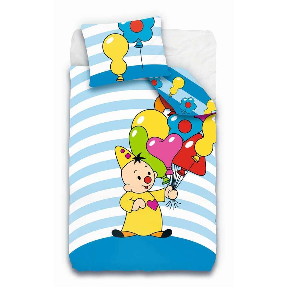 Dekbedovertrek Bumba Ballonnen - multikleur - 140x200 cm - Leen Bakker