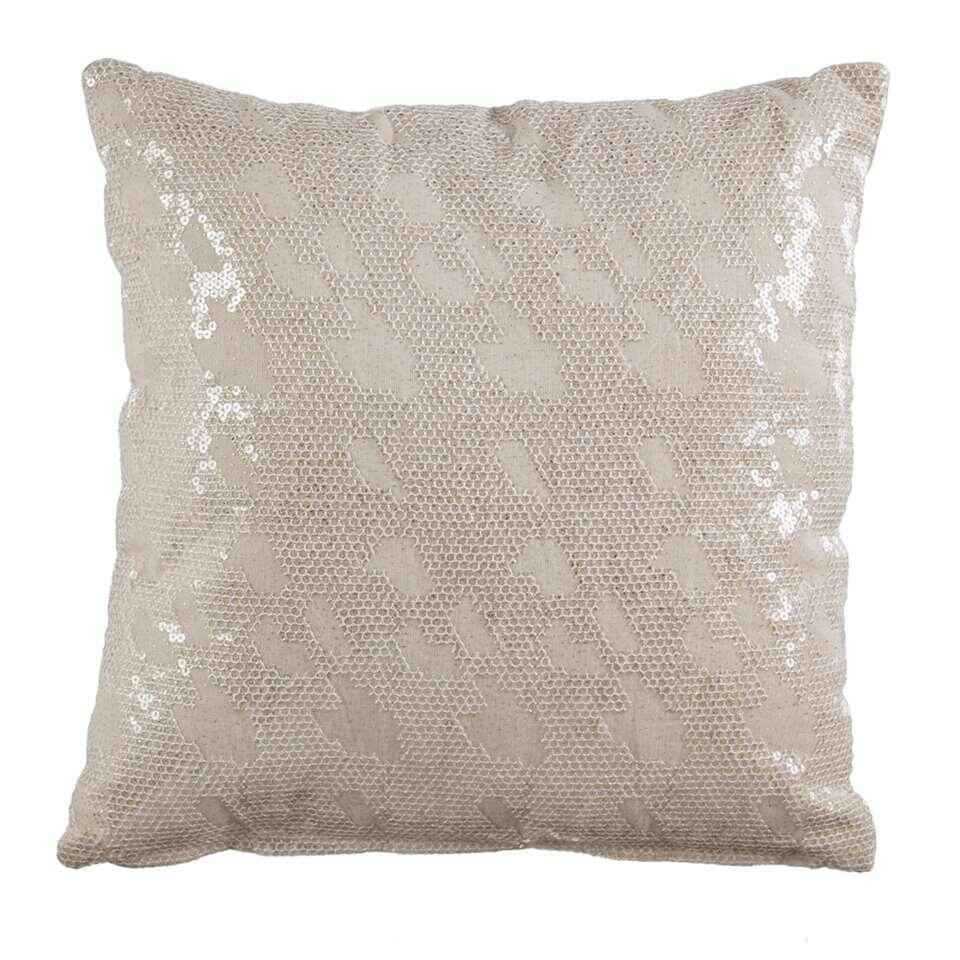 KAAT Amsterdam sierkussen Congaree – naturel – 45×45 cm – Leen Bakker