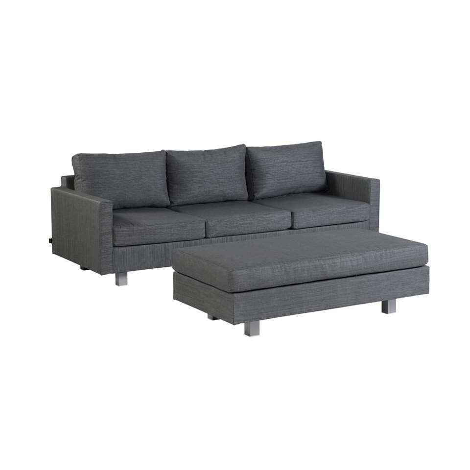 Exotan Bueno loungeset - grijs - Leen Bakker