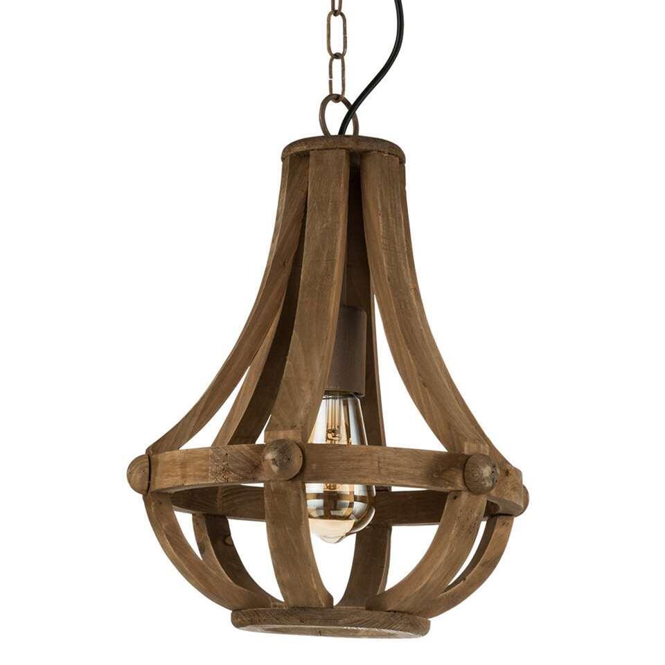 EGLO hanglamp Kinross - bruin - Ø31 cm - Leen Bakker