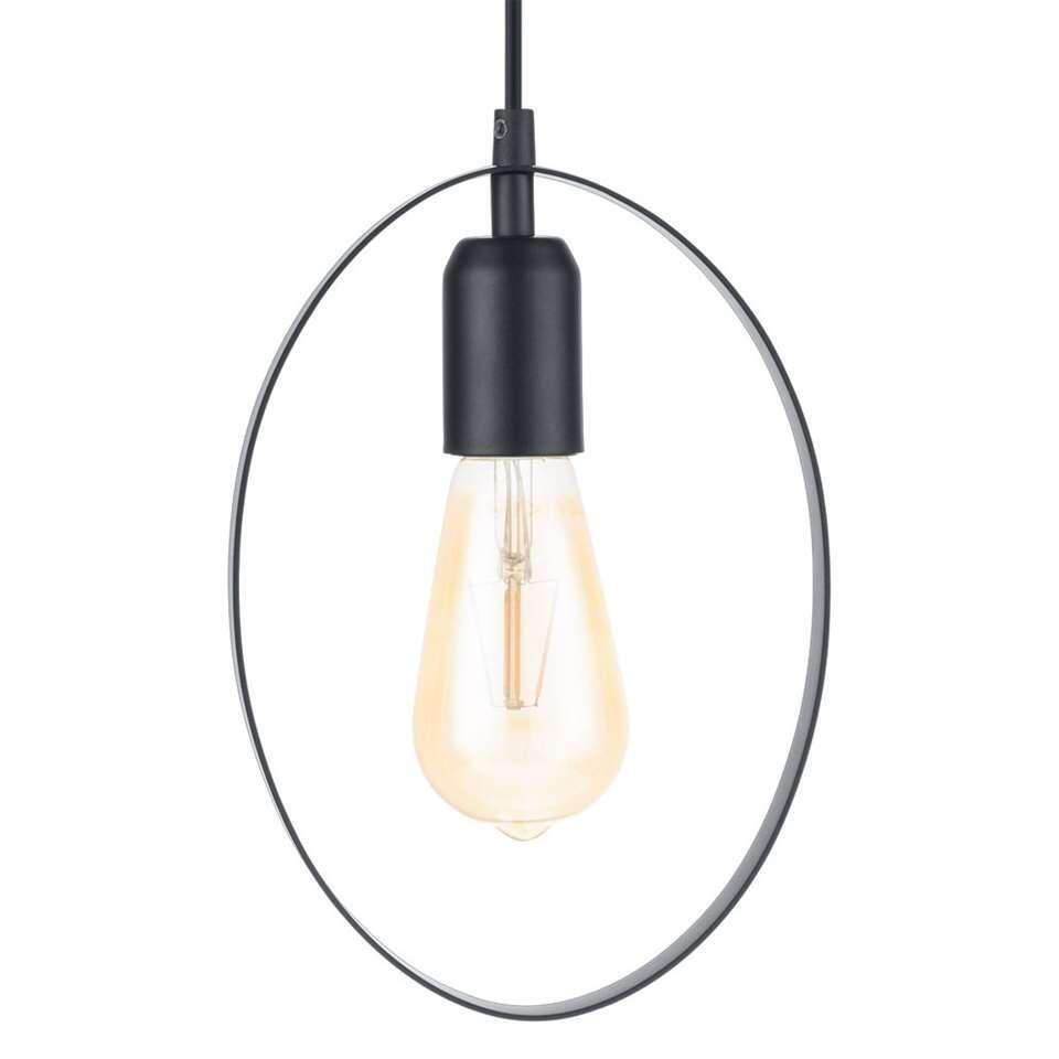EGLO hanglamp Bedington elips - zwart - Leen Bakker