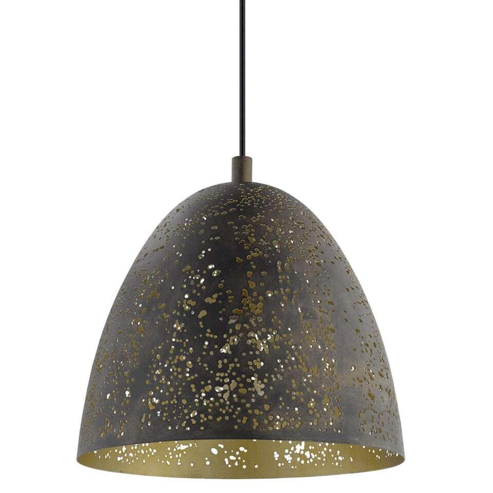 Hanglamp Safi van EGLO is een trendy hanglamp gemaakt van staal en heeft een diameter van 27,5 cm.