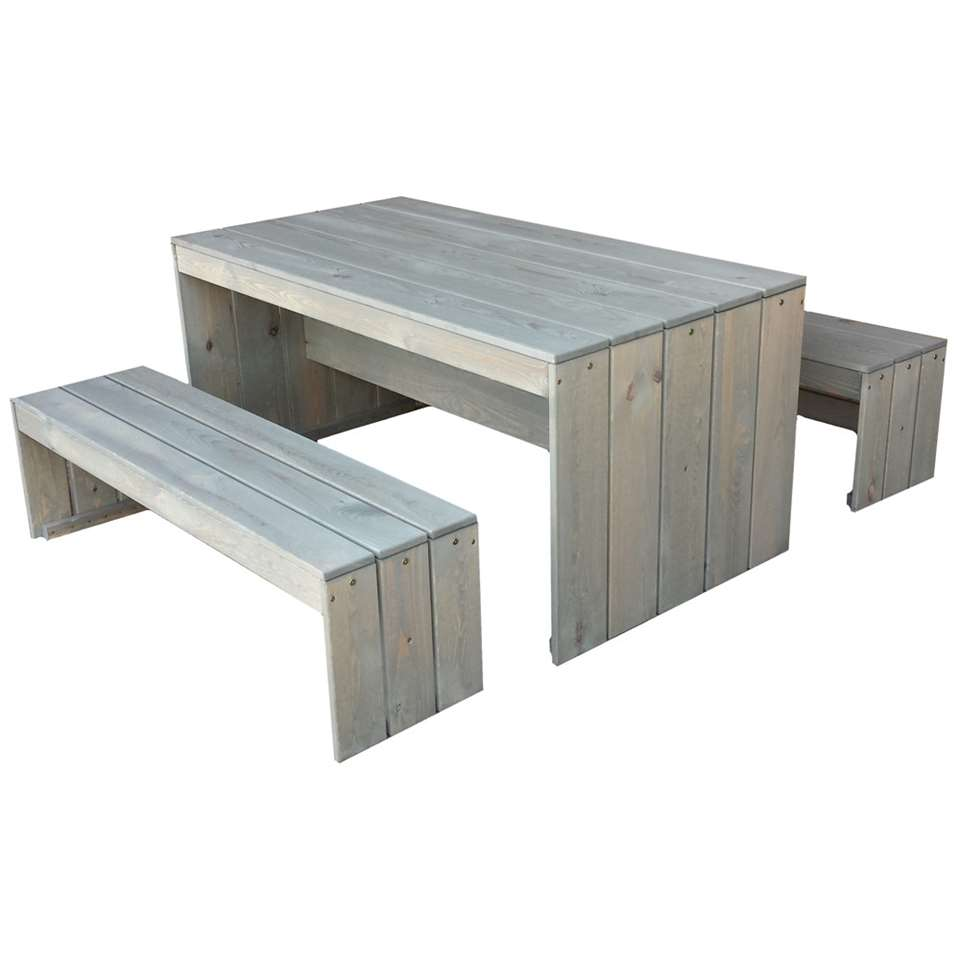 SenS-Line picknickset Toulouse - lichtgrijs - Leen Bakker
