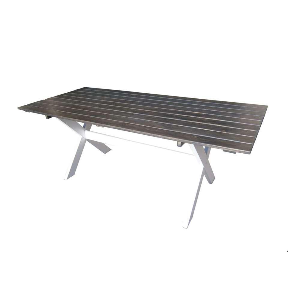 SenS-Line tafel Dortmund - wit - 200x86x74 cm - Leen Bakker