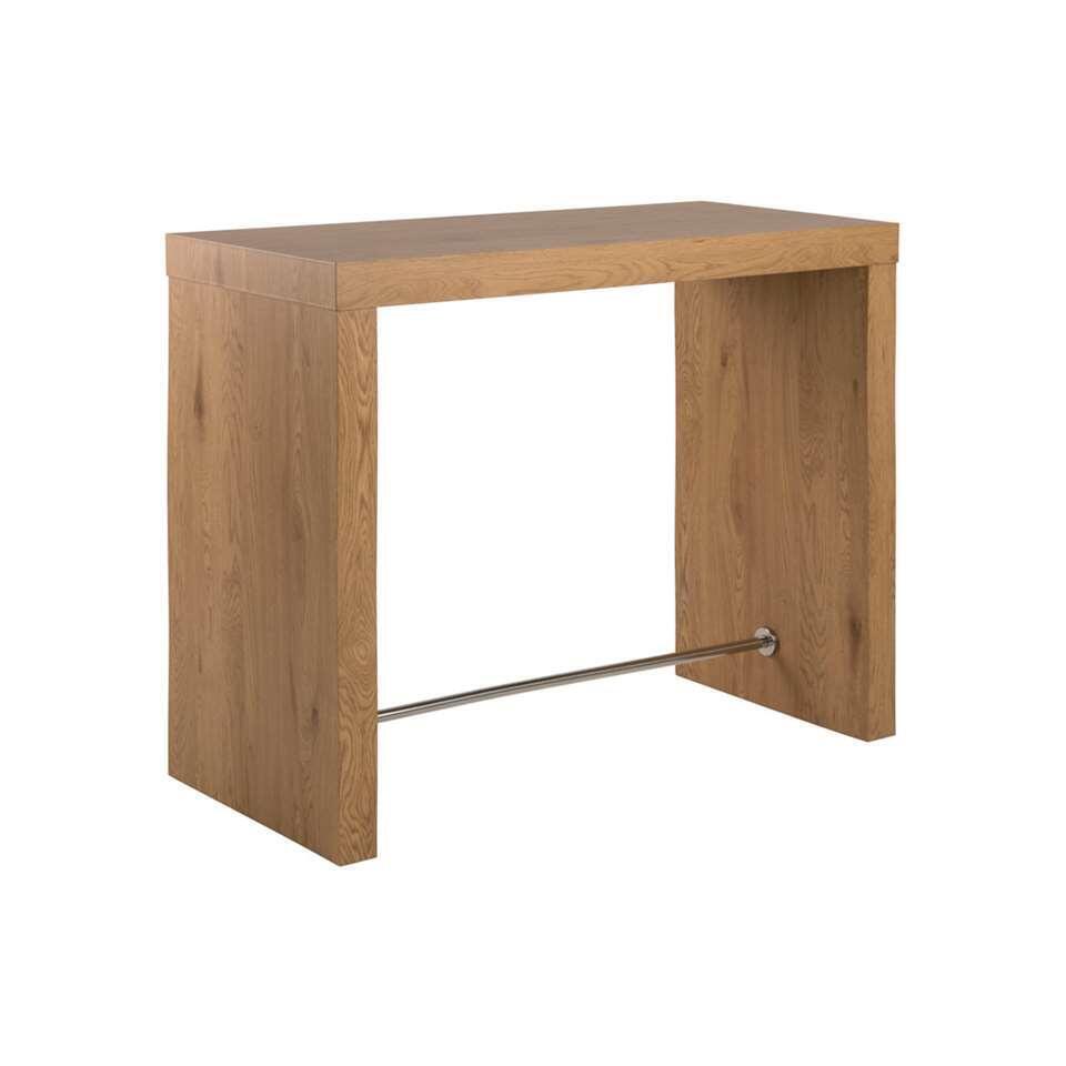 Bartafel Voka - bruin - 105x60x130 cm - Leen Bakker