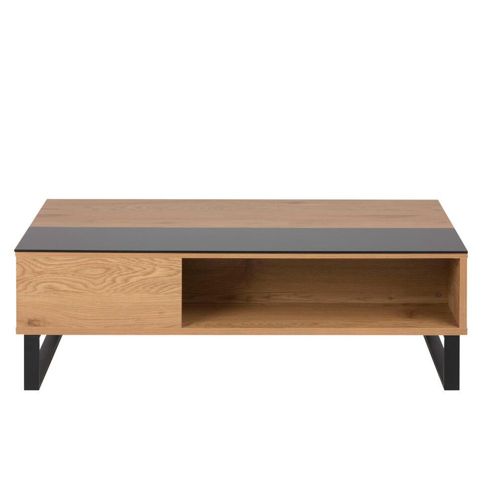 Salontafel Linna - bruin - 35x60x110 cm