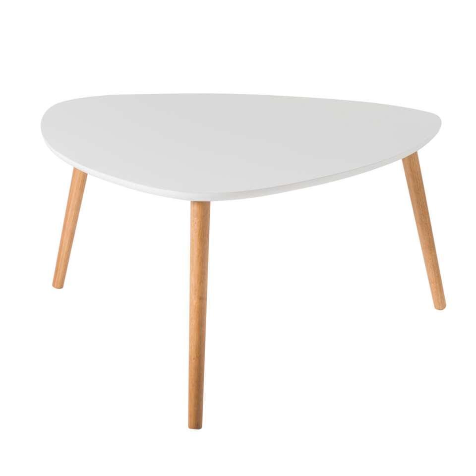 Demeyere salontafel Nomad - wit - 60x60x35 cm - Leen Bakker