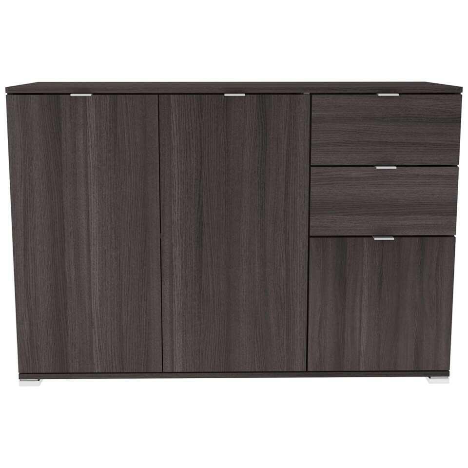Demeyere dressoir Perfect - donkereiken - 82x120x42 cm - Leen Bakker