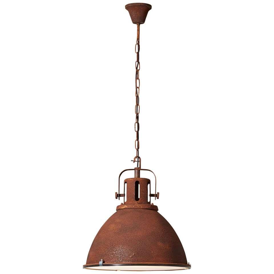 Brilliant hanglamp Jesper - roest - Ø47 cm - Leen Bakker