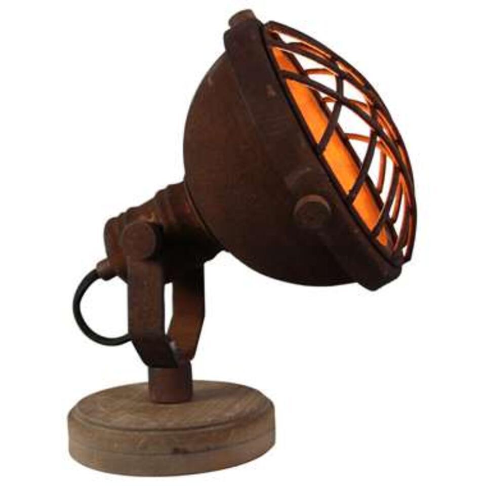 Brilliant tafellamp Mila - roest - Leen Bakker