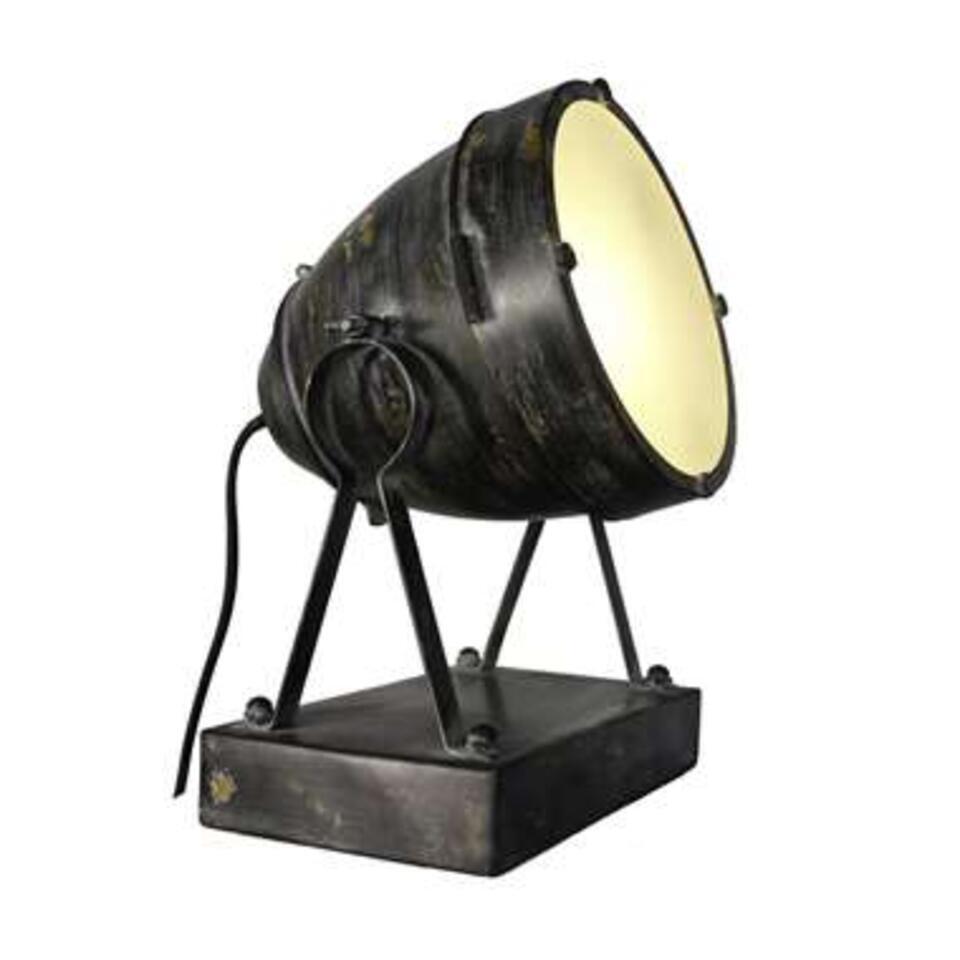 Brilliant tafellamp Fenna - zwart - Leen Bakker