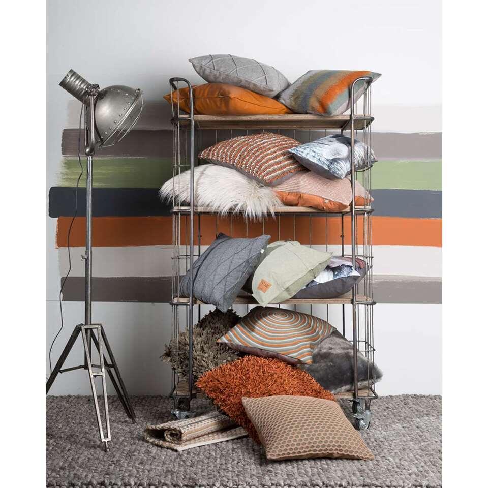 Sierkussens Voor Op Bed.Dutch Decor Sierkussen Specan Camel 45x45 Cm