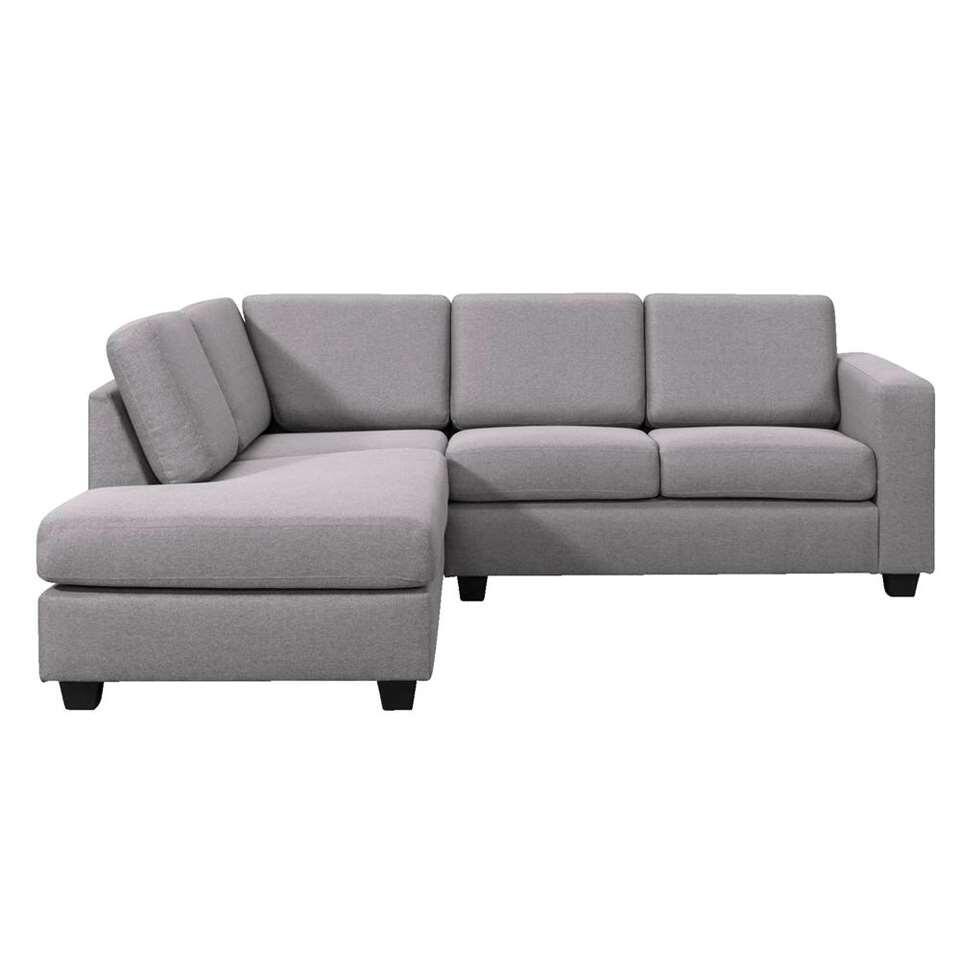Canapé d'angle Varberg angle à gauche - gris clair