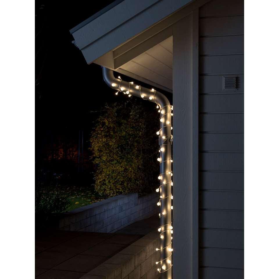 Konstsmide LED globe lichtsnoer binnen/buiten - warm wit - Leen Bakker
