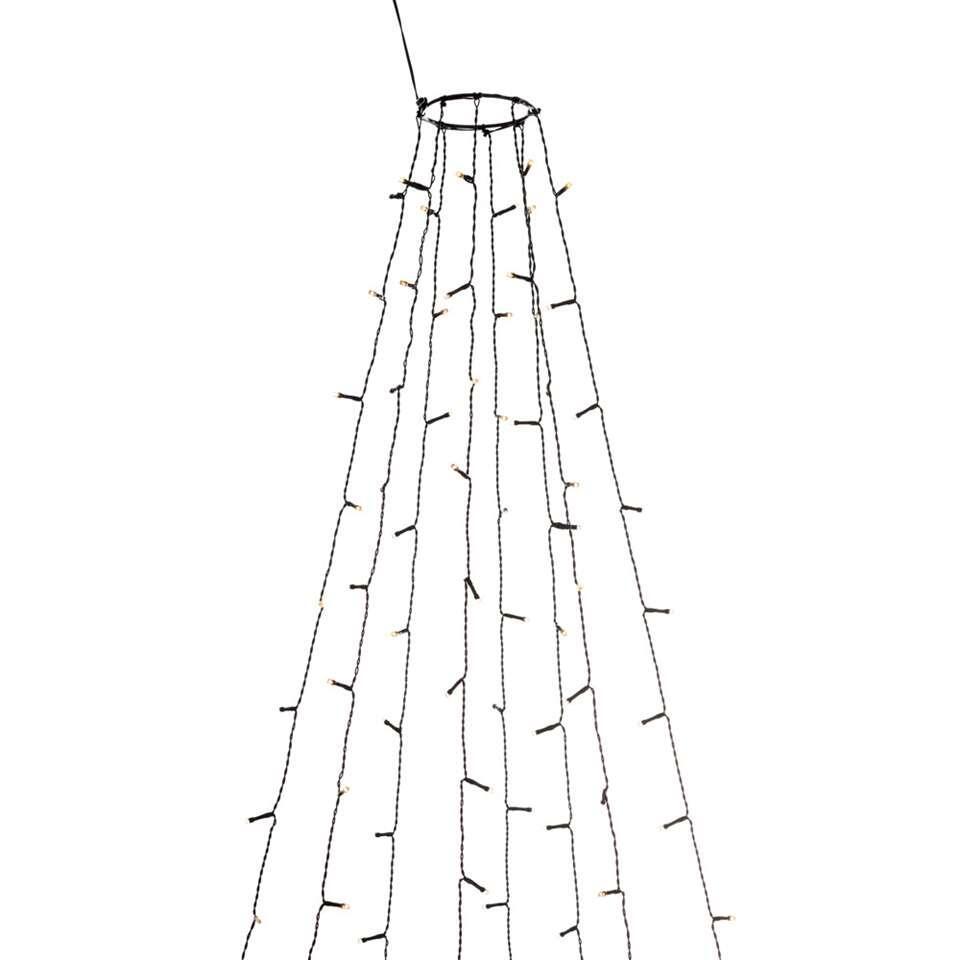 Konstsmide LED lichtmantel firefly binnen/buiten - 2,4 m - extra warm wit - Leen Bakker