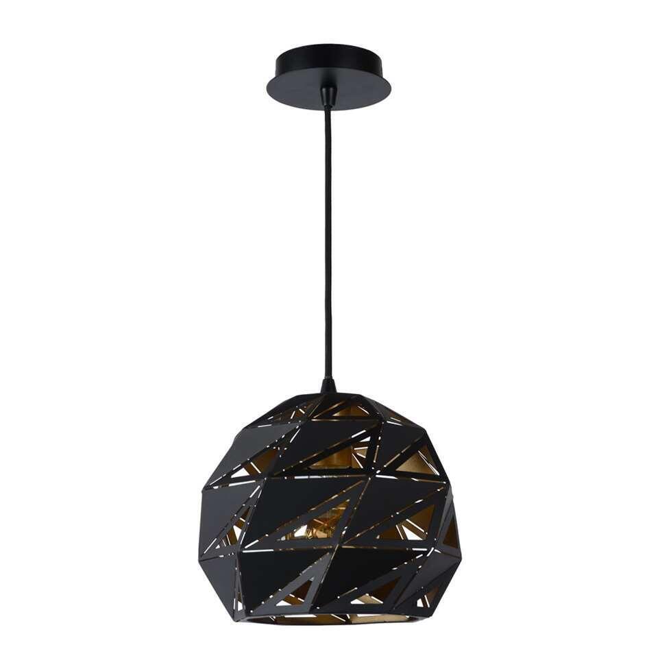 Lucide hanglamp Malunga - zwart - Leen Bakker