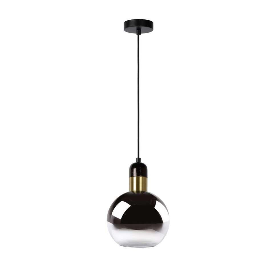 Lucide hanglamp Julius - fumé - Ø20 cm - Leen Bakker