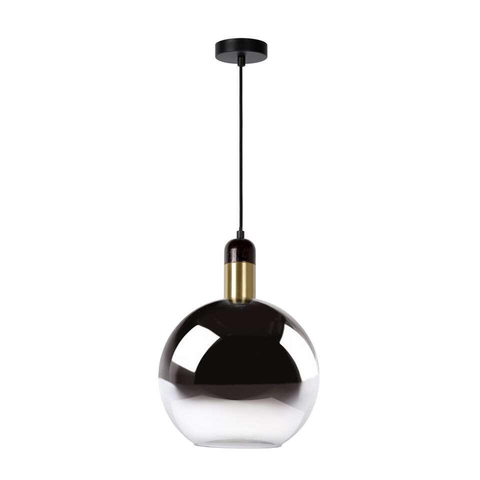 Lucide hanglamp Julius – fumé – Ø28 cm – Leen Bakker