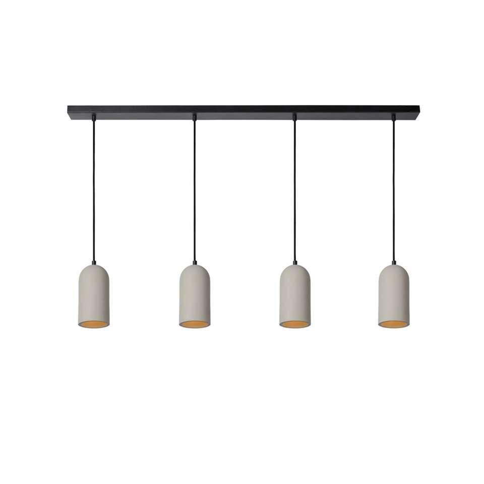 Lucide hanglamp Gipsy - taupe