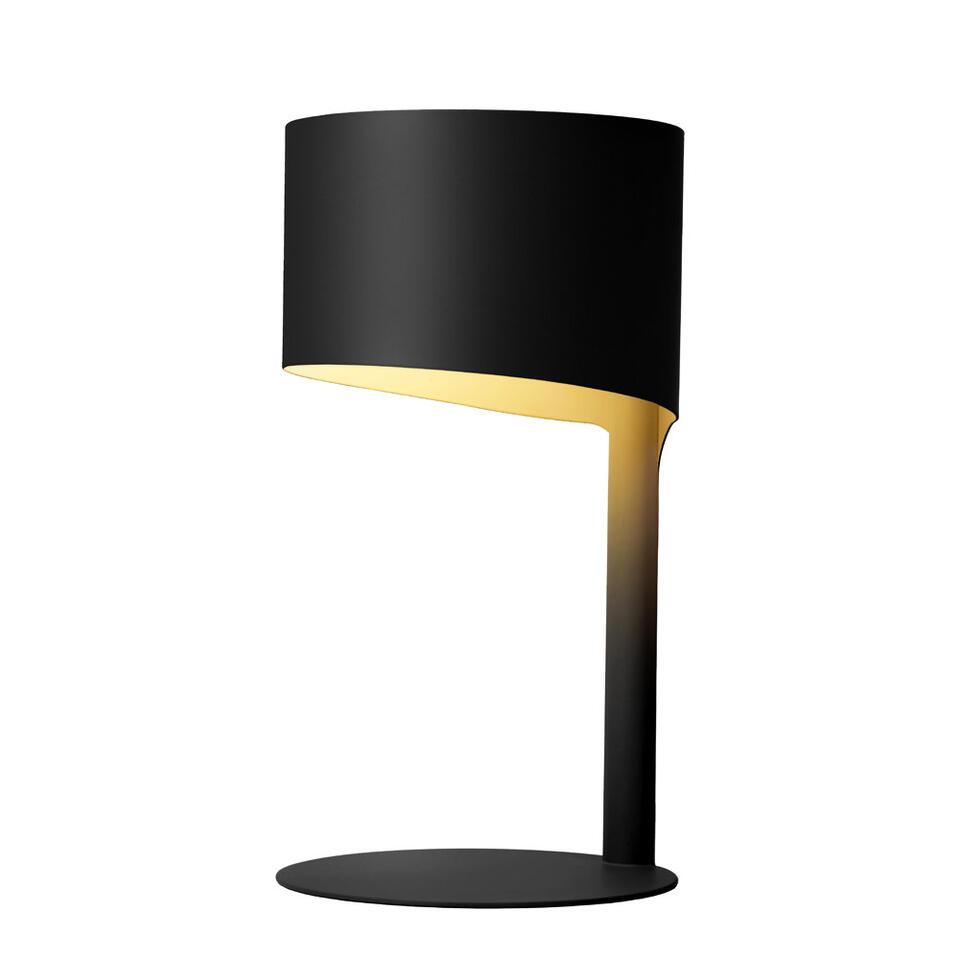 Lucide tafellamp Knulle - zwart - Leen Bakker