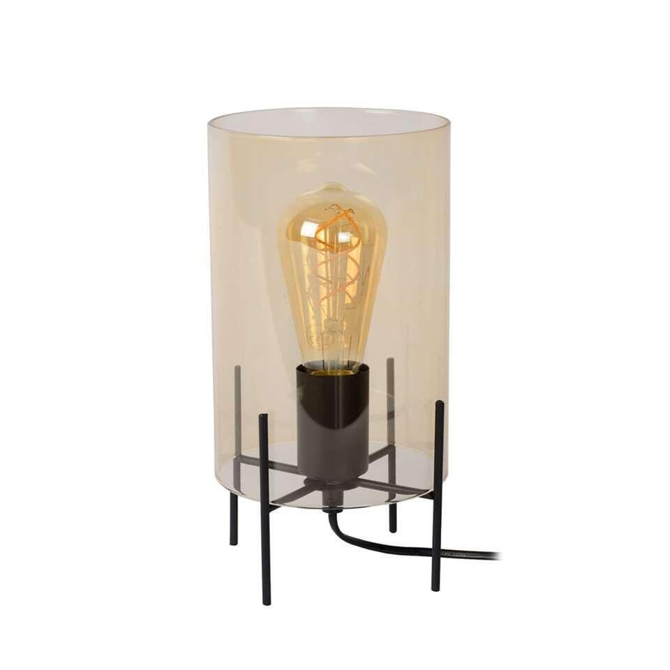 Lucide tafellamp Steffie - amber - Leen Bakker