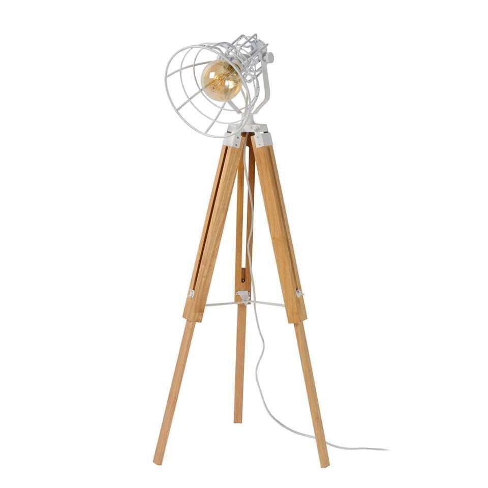 Lucide vloerlamp Joshua – wit – Leen Bakker