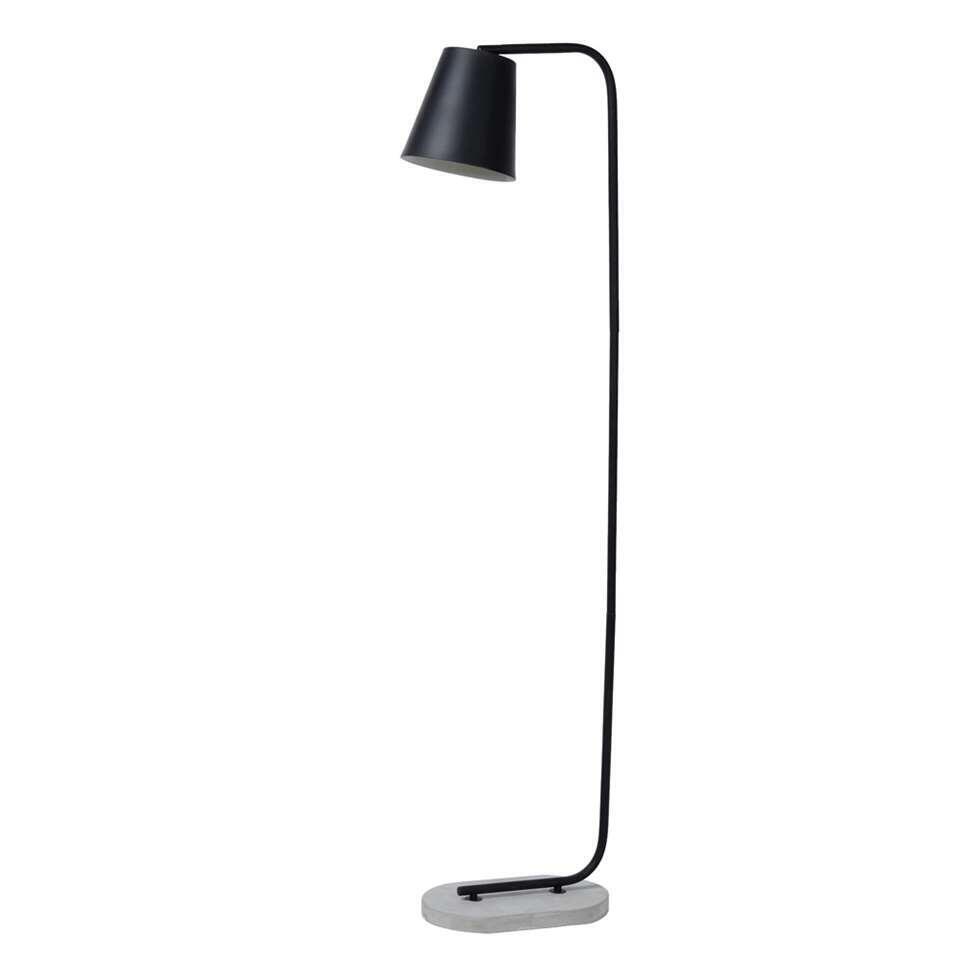 Lucide vloerlamp Cona - zwart